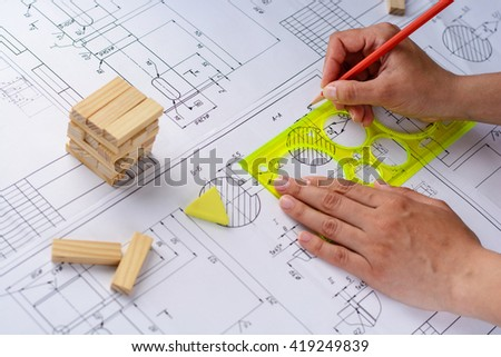 Tools Design New Home Stock Photo 283662473 Shutterstock
