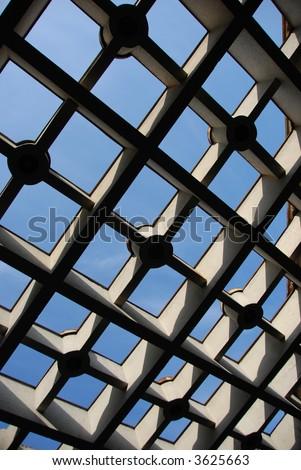 Architectual detail - stock photo