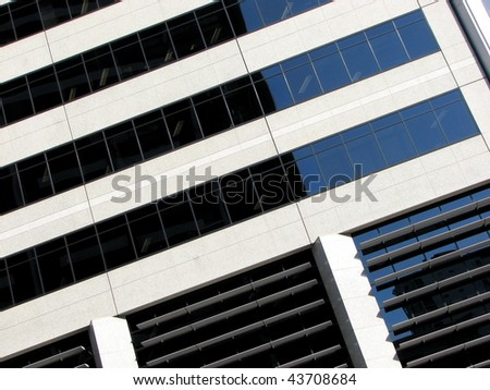 Architectural Abstract 1 - stock photo
