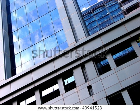 Architectural Abstract 7 - stock photo
