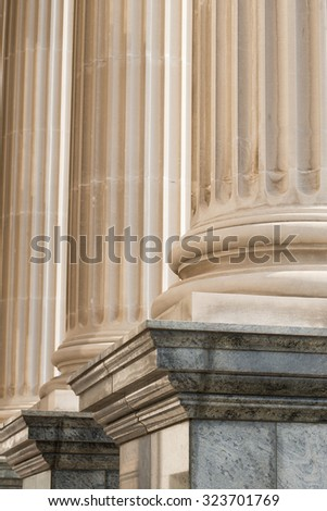 Architectural Columns - stock photo