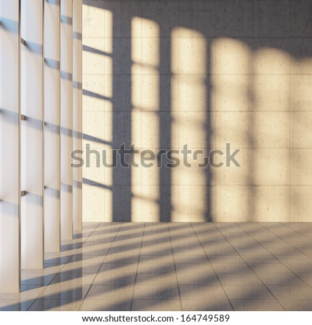 Window shadow stock images royalty free images vectors for Window design concrete