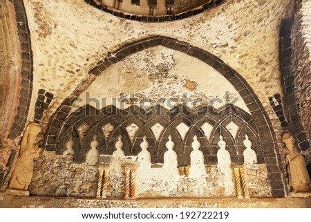 Architectural detail in Ravello, Amalfi Coast, Italy, Europe - stock photo