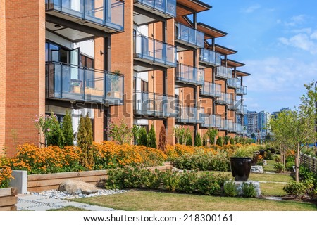 Modern Apartment Building apartment building stock images, royalty-free images & vectors