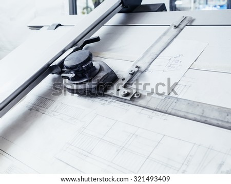 Architecture Drawing Table drafting table stock images, royalty-free images & vectors
