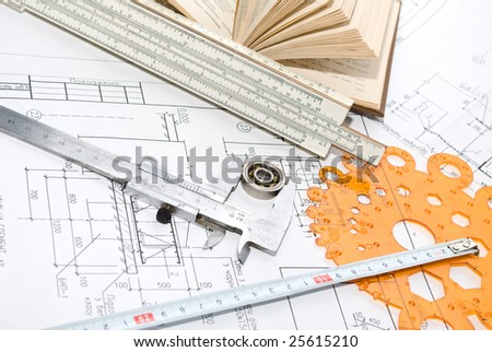 Architectural plan and tool
