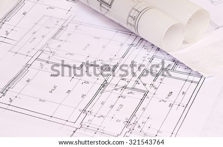 Architecture background construction plan tools blueprint stock architecture background construction plan tools and blueprint drawings malvernweather Image collections