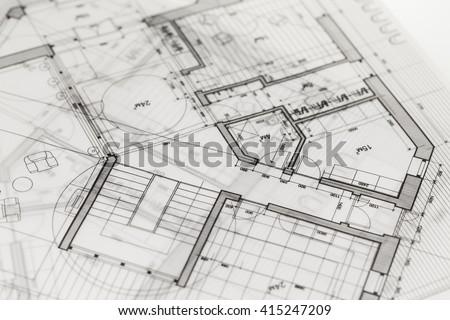 Construction sketch imgenes pagas y sin cargo y vectores en stock architecture blueprint house plan malvernweather Choice Image