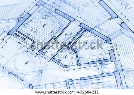 Architecture Blueprints House house plan vector blueprint stock vector 23462386 - shutterstock