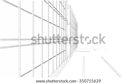 architecture building - stock photo
