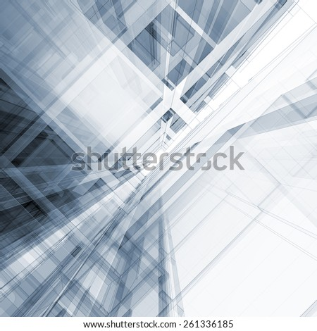 Architecture design. Architecture design and model my own - stock photo