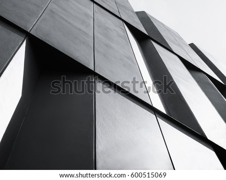 Modern Architecture Detail architecture detail modern glass facade building stock photo