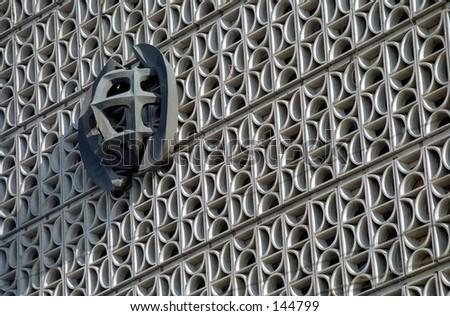 Architecture exteriors detail - stock photo