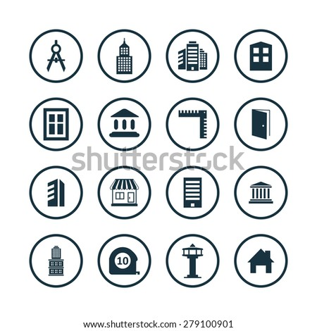 Stock images royalty free images vectors shutterstock for Architecture icon