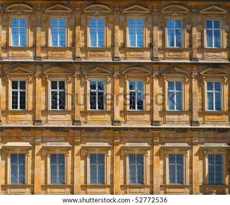 Architecture in Bamberg - stock photo