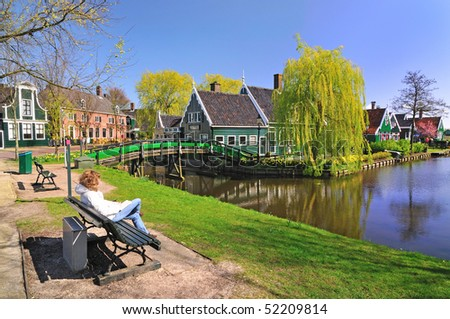 Architecture in Netherlands - stock photo