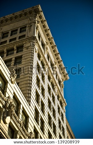 Architecture in New Orleans is quite varied - stock photo