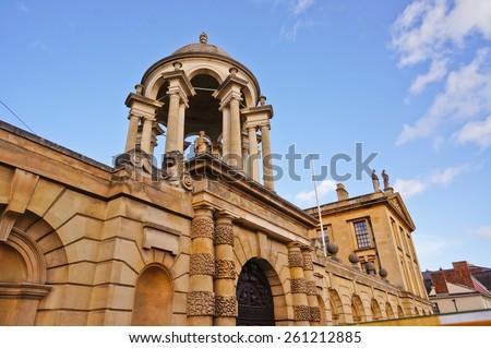 Architecture in Oxford - stock photo