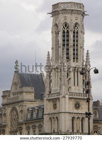 Architecture in Paris, France - stock photo