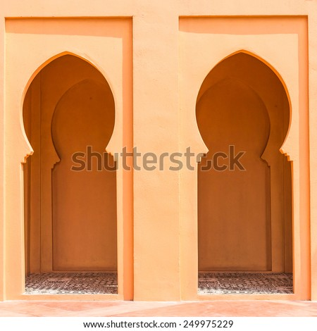 Architecture morocco style - vintage effect pictures - stock photo