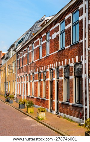 Architecture of  Delft, Netherlands