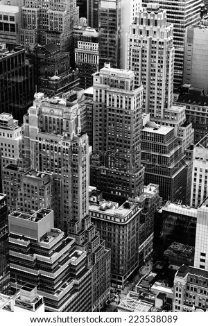 Architecture of Manhattan