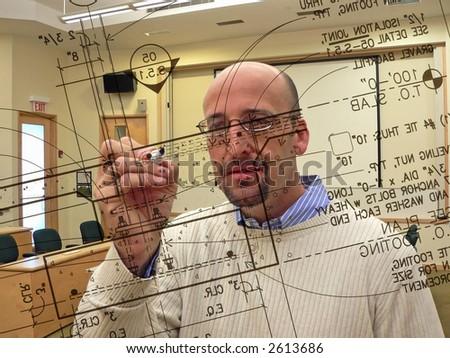 Architecture Professor - stock photo