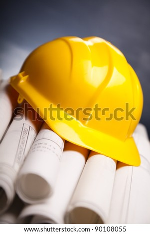 Architecture project building - stock photo