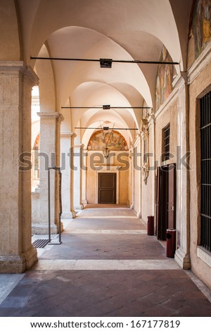 Archs in Rome - stock photo