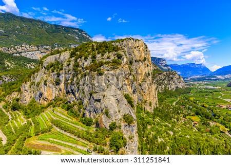 Arco, Trentino, Italy - stock photo