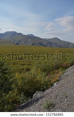 Arctic Mountains - stock photo