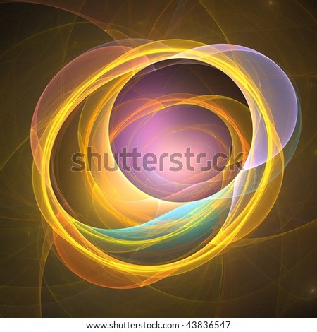 Are you looking for 3D rendered Fractal for background? - stock photo