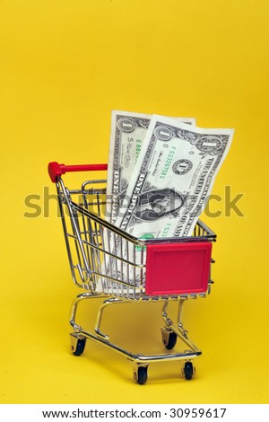 Are you spending all your money at the store?