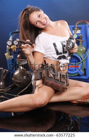 Are you sure this the right handyman for the job? - stock photo