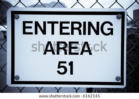 Area 51 - stock photo