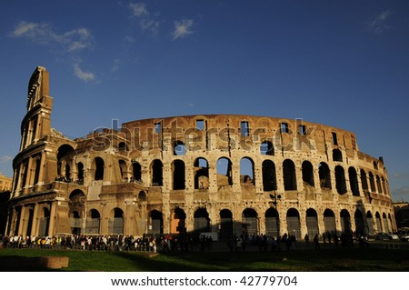 arena of ancient Rome