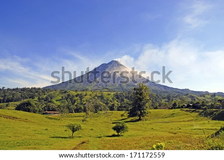 Arenal Volcano, Costa Rica - stock photo
