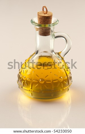 argan oil - stock photo