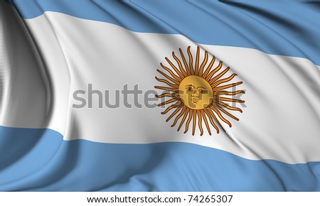 Argentina flag HI-RES collection