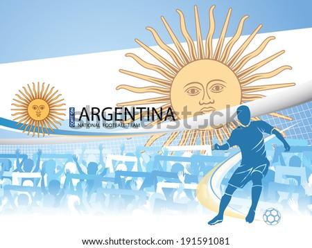 Argentina - National Football Team - stock photo