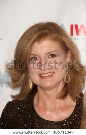 Arianna Huffington  at the International Women's Media Foundation's Courage In Journalism Awards. Beverly Hills Hotel, Bevelry Hills, CA. 10-16-08