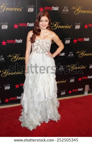 Ariel Winter at the 37th Annual Gracie Awards Gala held at the Beverly Hilton Hotel in Los Angeles, California, United States on May 22, 2012.