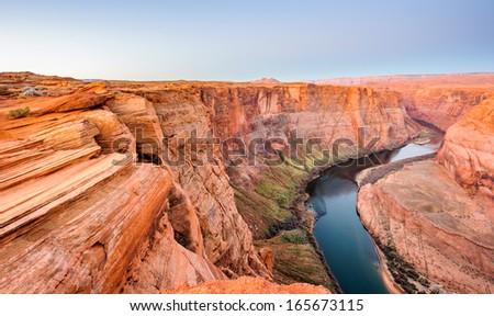 Arizona Horseshoe Bend - stock photo