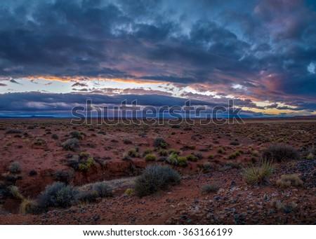 Arizona landscapes. - stock photo