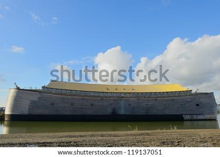ark of Noah - stock photo
