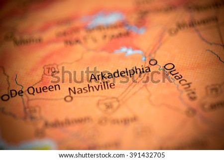 Arkadelphia. Arkansas. USA - stock photo