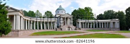 Arkhangelskoye estate in Moscow, Russia - stock photo