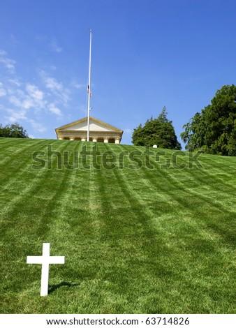 Arlington Cemetery, Washington - stock photo