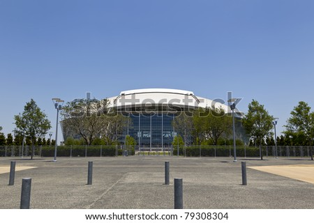 ARLINGTON, TEXAS - JUNE 13: Dallas Cowboy Field, home of the NFL Cowboys, on June 13, 2011 in Arlington, Texas. This state of the art facility opened in 2009, replacing Texas Stadium.