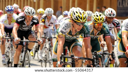 ARLINGTON, VIRGINIA - JUNE 12: Cyclists compete in the U.S. Air Force Cycling Classic on June 12, 2010 in Arlington, Virginia.